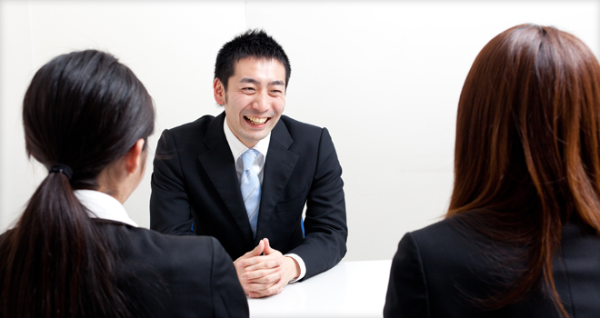 ビジネスマンの容姿と人間性
