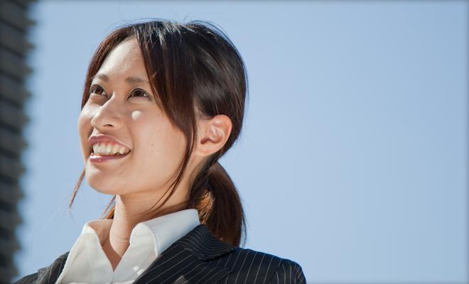 ブラック企業就職のススメ 女性写真イメージ03