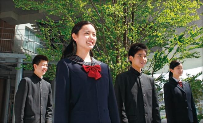 福岡大濠中学 生徒イメージ